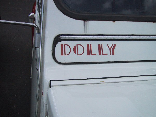 2cv s u00e9rie limit u00e9e dolly