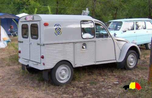 2cv fourgonnette 1966