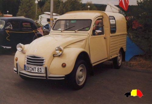 2cv fourgonnette 250